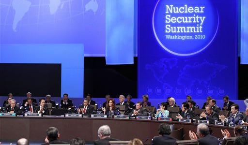 Nations agree to work together for nuclear security