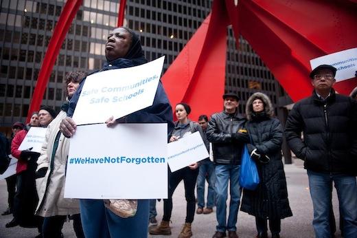 Vigils remember victims, vow action on gun violence