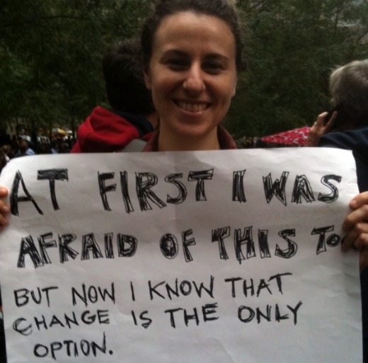 Occupy Wall Street solidarity stopped Zuccotti Park eviction