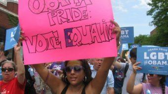 "Gay pride parades celebrate ""landmark year"""