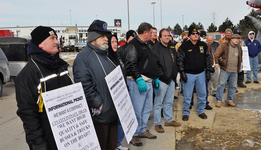Machinists fight for their pensions