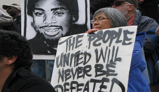 Protests greet release of Oscar Grant's killer