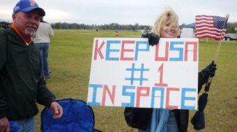 Space Coast rallies for jobs