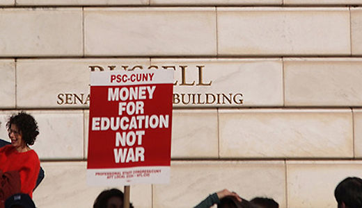 Judge blocks furloughs for CUNY faculty