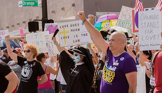 Turning to hope: A weekend of healing and unity in Orlando