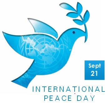 Today in history: It's World Peace Day!