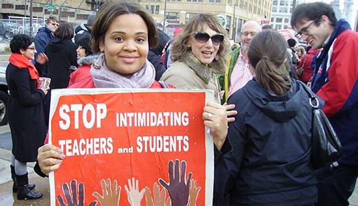 "Philly students, teachers assail top-down school ""reform"""