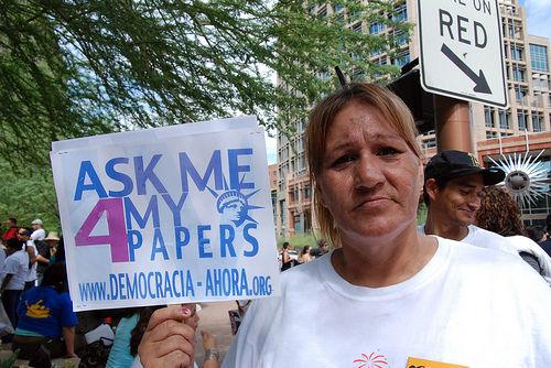 Arizona protests include civil disobedience