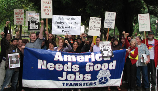 Oregon workers petition for jobs, safety net