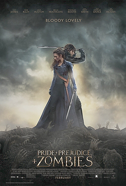 """Pride + Prejudice + Zombies"": The undead wear petticoats"