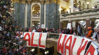 Wisconsin's Walker fails to squelch free speech