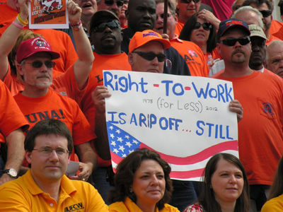 Missouri unionists, businesses, officials mobilize vs. 'right-to-work'