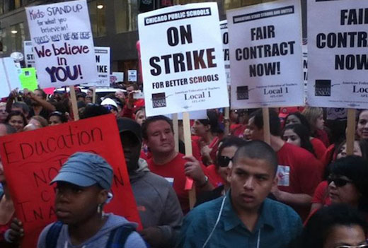 Chicago teachers to vote Sunday on ending strike