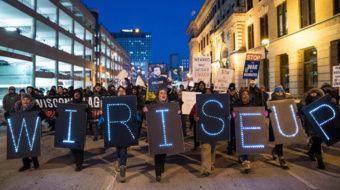 Wisconsin rising against right to work for less