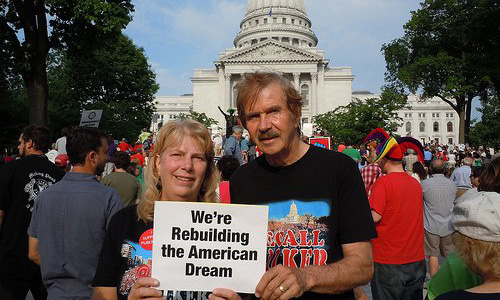 """American Dream"" in Dallas: Organizing never felt so good"