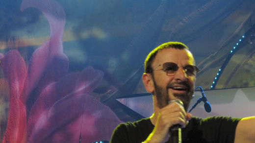 Today in history: Ringo Starr turns 75, asks for peace and love