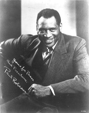 U.S. information center named for Paul Robeson