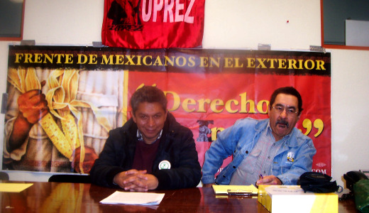 Mexican labor leader takes message to Washington