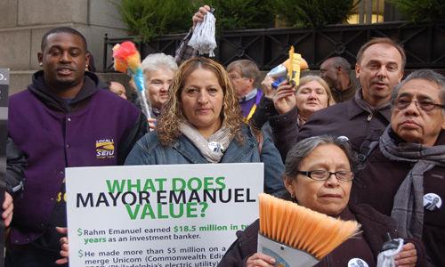 Janitors slated for Christmas layoff swamp City Hall