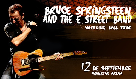 """Video: Springsteen sings """"Nueva Canción"""" as tribute to people of Argentina, Chile"""