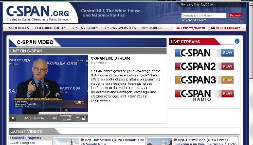 C-SPAN broadcasts Communist Party USA keynote