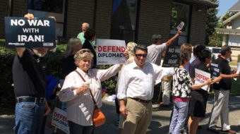 "San Jose says ""no"" to war with Iran"
