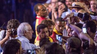 Feeling the Bern: Bernie Sanders is hot in Los Angeles