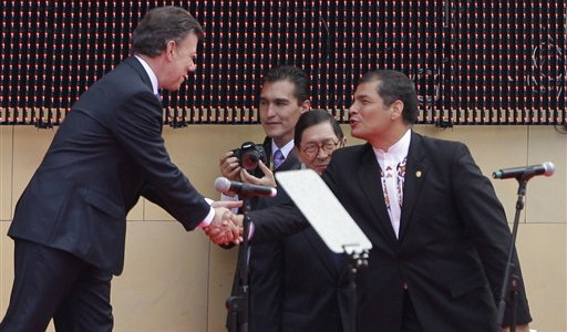Changeover in Colombia brings hope for peace