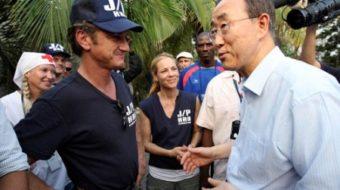Cuban artists and Sean Penn team up in Haiti