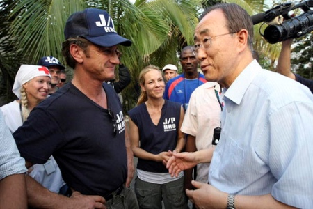 Cuban artists and Sean Penn team up in Haiti