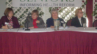 Seniors rally for strong health care reform