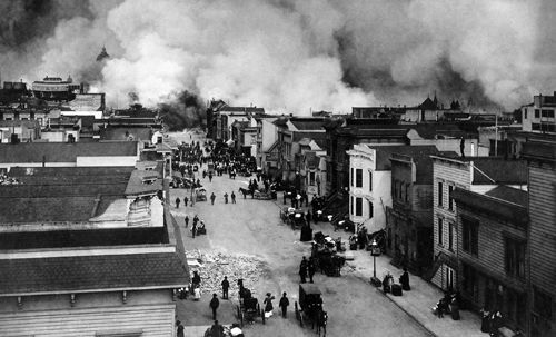 Today in eco-history: 1906 San Francisco earthquake