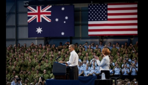 New military base in Australia: wrong direction