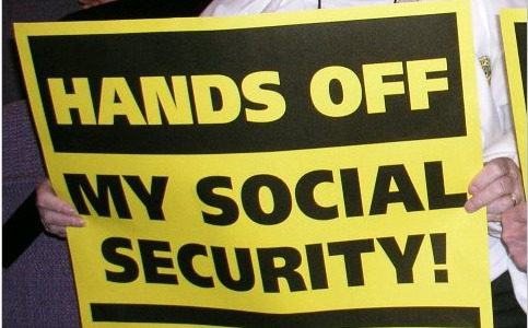 "Social Security's 75th birthday spurs ""Hands off"" campaign"