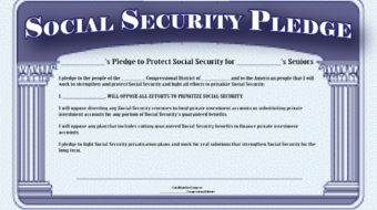 "Progressive Caucus tells deficit panel: ""Take Social Security off the table"""