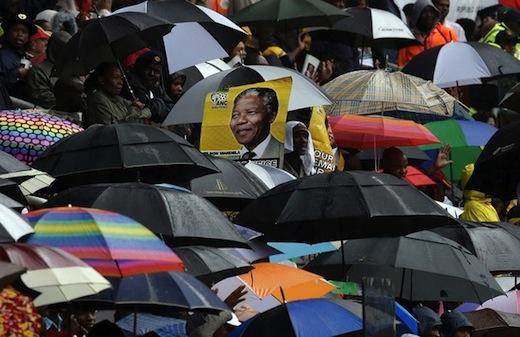 Hail and farewell President Nelson Mandela