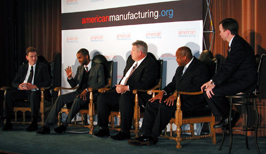 Town hall meet calls for U.S. manufacturing strategy