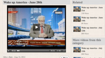 Behind the inflammatory video, a vast right-wing network