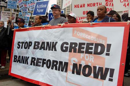 Banks making huge profits from toxic assets
