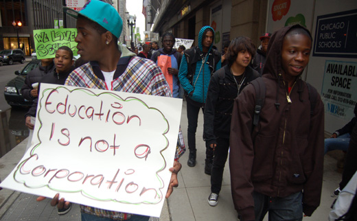 Parents: Retaining Chicago students is a flunking system