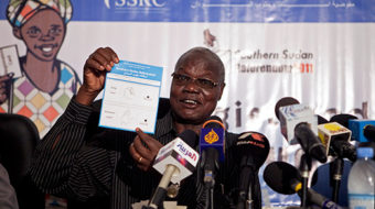 Southern Sudan begins vote on separation