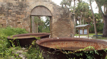 Picturesque ruins tell forgotten history in Florida