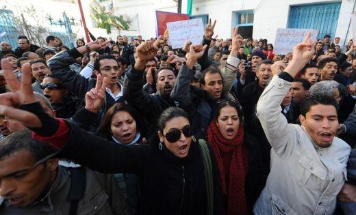 Tunisian uprising inspires democracy fight