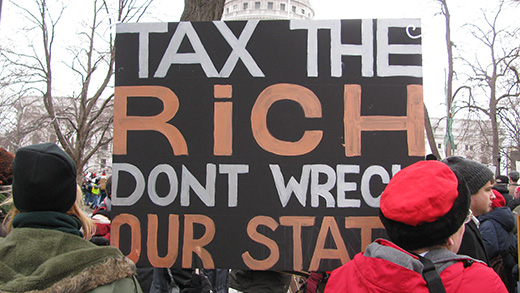 Providence, R.I., dilemma: tax the rich or fire teachers