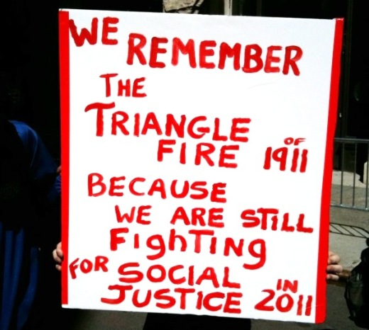 New Yorkers keep Triangle fire legacy alive