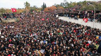 Murder of Tunisian leftist causes uproar