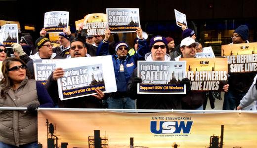 Oil workers continue strike against BP despite tentative settlement