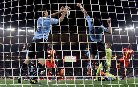 Uruguay got its comeuppance, Africa fans cheer
