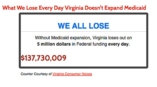 Medicaid fight in Virginia takes off