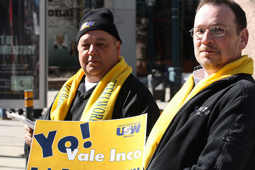 Vale Inco declares war on striking steelworkers